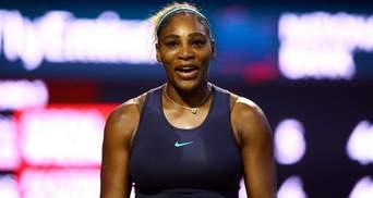 Тиждень була в шоці: тенісистка пригадала, як побачила Серену Вільямс голою