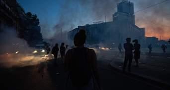 20-тисячний мітинг у Парижі: поліція застосувала сльозогінний газ проти активістів