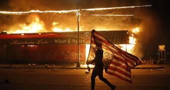 Погромы в США: большинство арестованных – не местные
