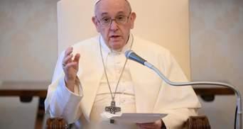 Вбивство Флойда та протести у США: Папа Римський звернувся до американців