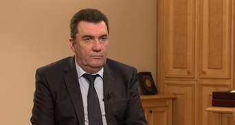 Про розвал Росії та закінчення війни на Донбасі: інтерв'ю із секретарем РНБО Даніловим