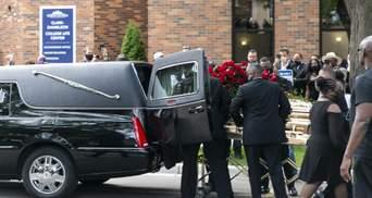 В Миннеаполисе прошла церемония прощания с Джорджем Флойдом: фото и видео