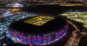 В Катаре открыли очередной стадион к чемпионату мира 2022 года: впечатляющие фото