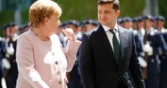 Зеленський поговорив з Меркель про агресію на Донбасі: головні тези