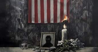 Художник Бэнкси показал новую работу на тему расизма и сделал потрясающее сравнение: фото
