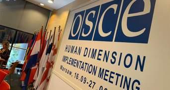 Истерика россиян в ОБСЕ: почему дипломат РФ пытался сорвать выступление британского эксперта