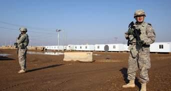 В Ираке разбился американский военный самолет: видео