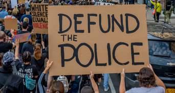 Менше грошей та розпуск: що чекає поліцію США після вбивства Флойда