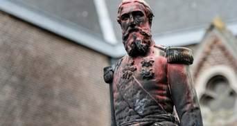 После протестов в Бельгии снесли памятник королю, который превратил жителей Конго в рабов: фото