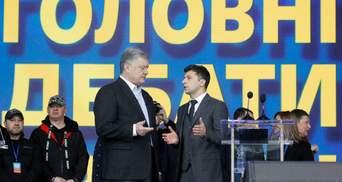 Зеленський: Порошенко досі вважає себе президентом, їздить за кордон і розказує про мене байки