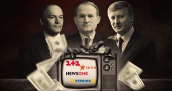 Контроль олігархів та пропаганда: кому належать українські канали