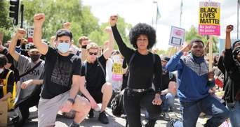 У Лондоні розпочалися масові мітинги, попри пандемію COVID-19
