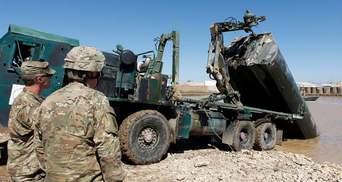 В Ираке российскими ракетами обстреляли базу с военными США