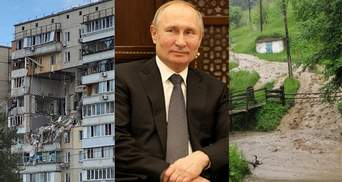 Главные новости 21 июня: взрыв в Киеве, масштабные подтопления, интервью Путина