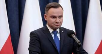 """Перед виборами президента Польщі Дуду звинуватили у """"підкупі"""" виборців пожежними машинами"""