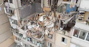 Уничтожило все: шокирующие фото и видео изнутри дома после взрыва на Позняках