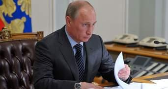 Крик бездушного Путина
