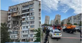 Дом, который взорвался на Позняках, ночью от мародерства будет охранять полиция, – Кличко