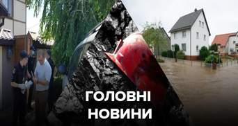 Головні новини 29 червня: обвал шахти, самогубство дружини депутата, негода знову йде в Україну