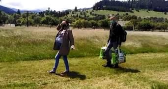 Негода не завадить народженню: з Прикарпаття на гелікоптері евакуювали двох породіль – відео