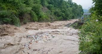 Наводнения на Западе Украины могут повредить ГТС
