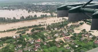 Наводнения на Западной Украине: убытки достигли почти миллиарда гривен