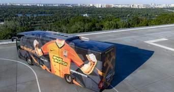 """С историческим подтекстом: """"Шахтер"""" представил новый дизайн клубного автобуса – фото"""