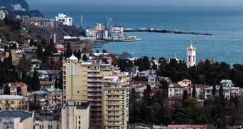 Окупована Ялта втратить майже пів мільярда рублів через пандемію COVID-19