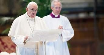 Папа Римський закликав молитися за постраждалих від повеней українців