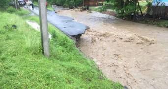 Злива на Закарпатті: за 2 години випала 20-денна норма опадів – фото