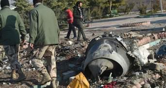 Іран відправив чорну скриньку зі збитого літака МАУ до Франції