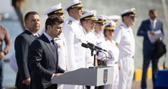 День ВМС: президент Зеленський привітав моряків та пообіцяв їм 70 квартир