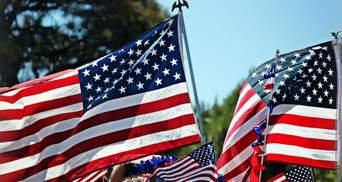 Свержение памятника и сожжение национального флага: видео со Дня независимости США