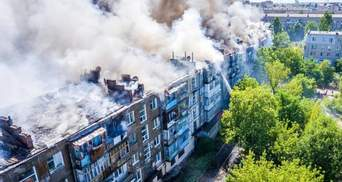Масштабный пожар в Новой Каховке: поджигатель объяснил причины возгорания