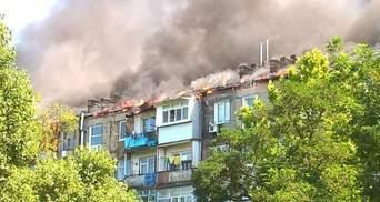 Покурив на дивані та заснув, – поліція розповіла деталі масштабної пожежі в Новій Каховці
