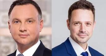 Президент Польши Дуда проигрывает во втором туре выборов, – соцопрос
