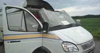 Викрали 2,5 мільйона гривень і пістолет: автомобіль Укрпошти підірвали на Полтавщині