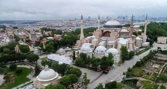 Папа Римський і голова церков невдоволені рішенням Туречини щодо Ая-Софії