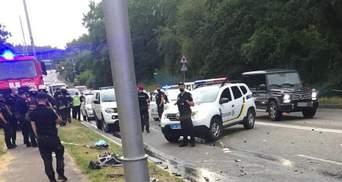 Кривава ДТП біля Козина: поліція затримала винуватця й відкрила справу