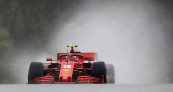 Формула-1: как пилоты Феррари не поделили трассу – видео столкновения