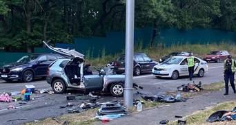 ДТП біля Козина на Київщині: водію Mercedes оголосили підозру