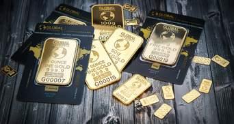 Золото дешевшає на тлі успішних випробувань вакцини від COVID-19 компанії Moderna