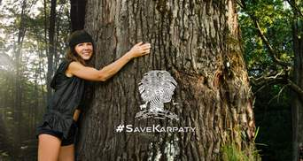 Прелюдия к экологической катастрофе: Руслана с эмоциями выступила против вырубки Карпат – видео