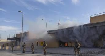 В Багдаді територію біля посольства США знову обстріляли ракетами: деталі