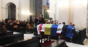 Чествование героя: в Киеве прощаются с Николаем Илиным – фото и видео