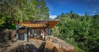 З багаттям на терасі: в Колумбії побудували затишний гірський будиночок – фото