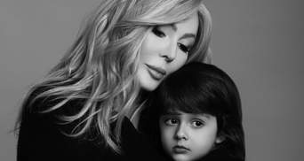 4-летний сын Ирины Билык позировал в образе байкера – дерзкие фото