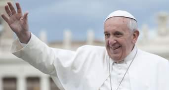 Молитва від понтифіка: Папа Франциск привітав припинення вогню на Донбасі