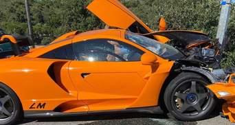 Колишній пілот Формули-1 розбив розкішний McLaren вартістю мільйон євро: фото та відео