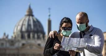 Из-за пандемии COVID-19 в Италии продлили чрезвычайное положение до октября